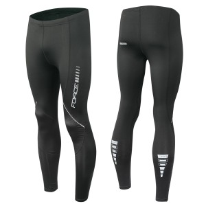 bag-double rear carrier FORCE DOUBLE  black 2x10 l