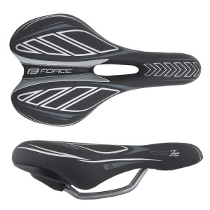 saddle FORCE JUNIOR  black-white