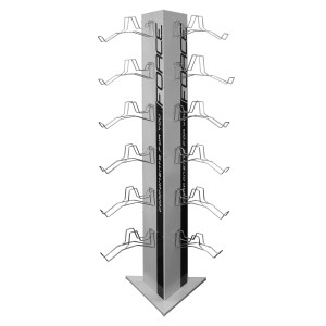 helmet FORCE LARK child  black-fluo M