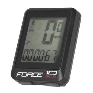 helmet FORCE ROAD  black-orange S - M