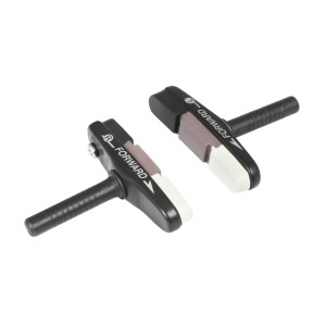 helmet FORCE ROAD  black-white-grey L - XL