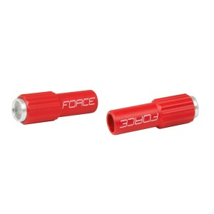 helmet FORCE ROAD  white-grey L - XL