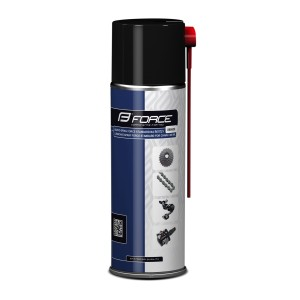 helmet FORCE ROAD PRO  white-red L - XL