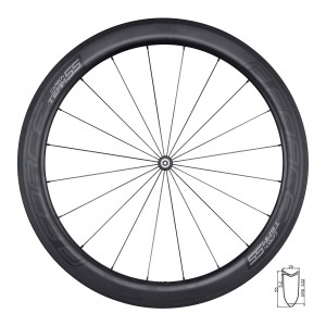 scarf multifunctional FORCE winter  black-grey UNI