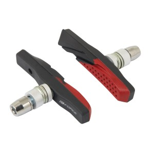 shoes FORCE TOURIST  black-grey-red 47