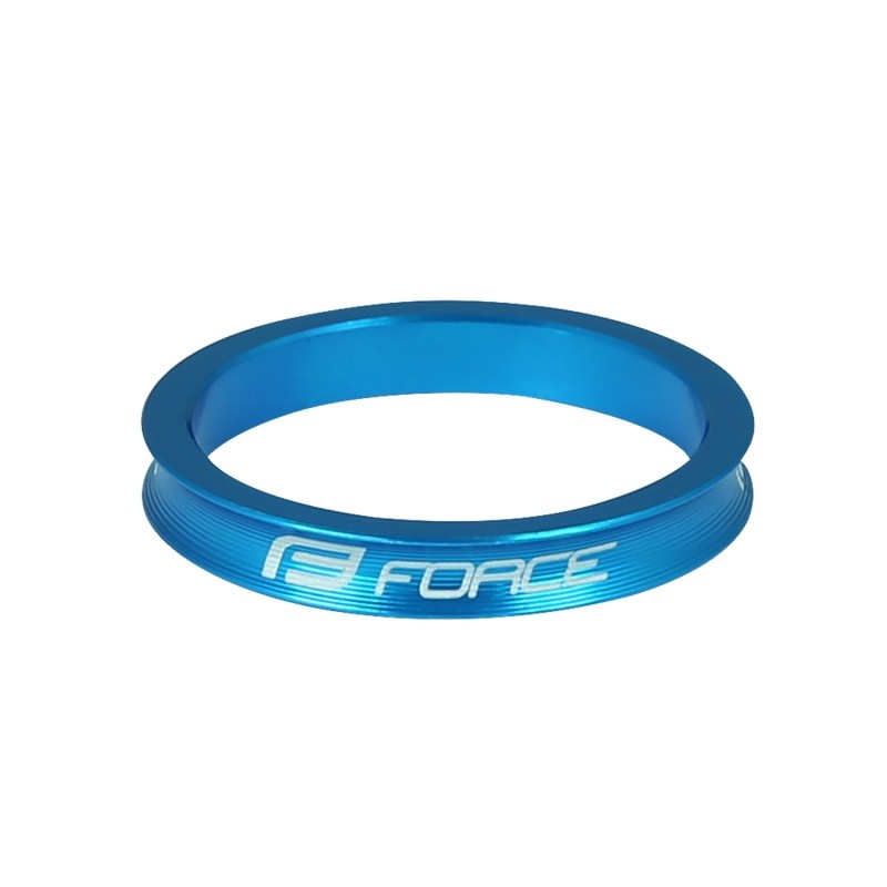 disc brake rotor FORCE 180 mm  6 holes  red