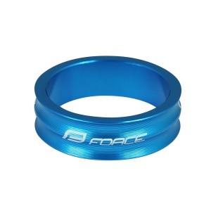 disc brake rotor FORCE 160 mm  6 holes  red