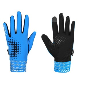 shorts FORCE MTB-11 to waist with pad  black L