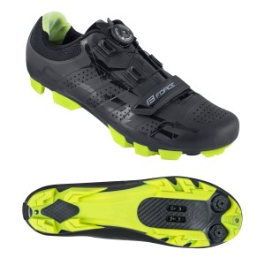 shoes FORCE ROAD  black-white 48