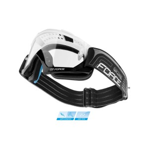 "wheel front MTB 29"" FORCE TEAM CARBON 28 tire"