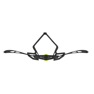 bibtights FORCE Z70 with pad  black S