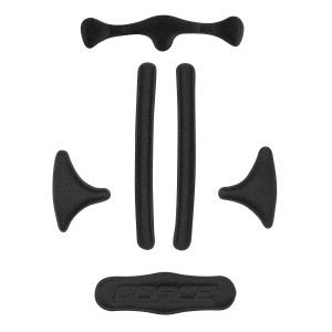 helmet FORCE ROAD PRO junior  white-red XS - S