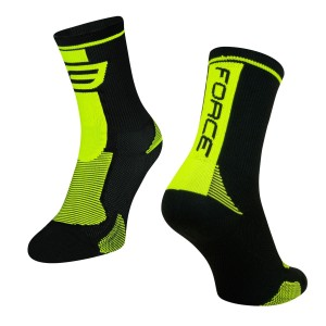 shoe covers FORCE16 knitted  fluo S - M