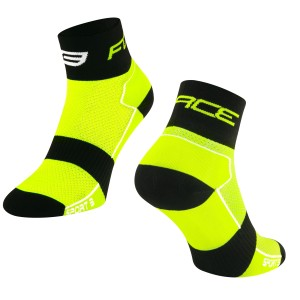 shorts FORCE MTB-11 to waist with pad  black S