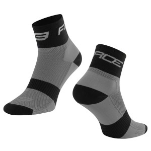 shorts FORCE MTB-11 to waist with pad  grey M