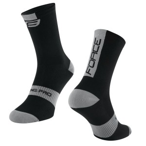 shorts FORCE MTB-11 to waist with pad  grey S
