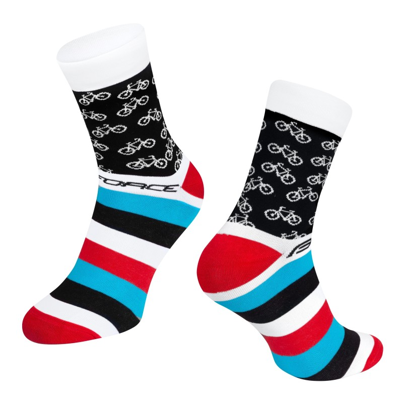 shorts FORCE MTB-11 to waist with pad  fluo XXL