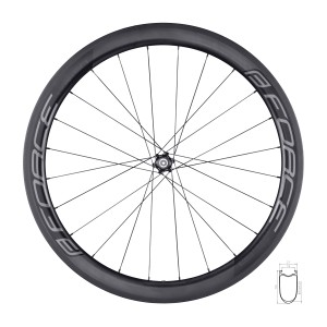 reflective vest FORCE SAFE to waist w/velcro black