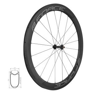 helmet FORCE BAT  white-red  S - M
