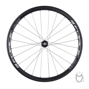 helmet FORCE BAT black-white-red  S - M
