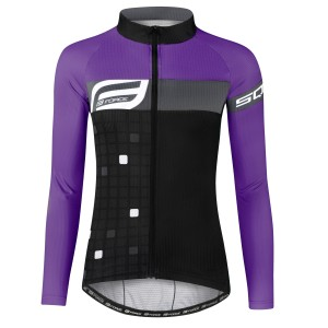 sports bra FORCE BEAUTY  black-grey XS