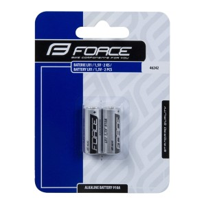 headlamp FORCE FOG 7 LED diodes+batteries  silver