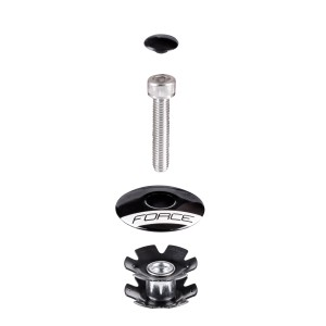 headset FORCE AHEAD 1 1/8'' integrated Al  white