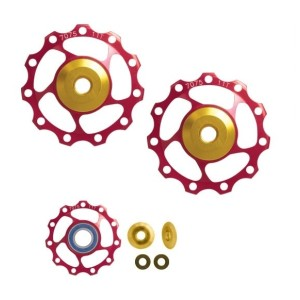 reflex strap FORCE with LED diodes 42 cm  yellow