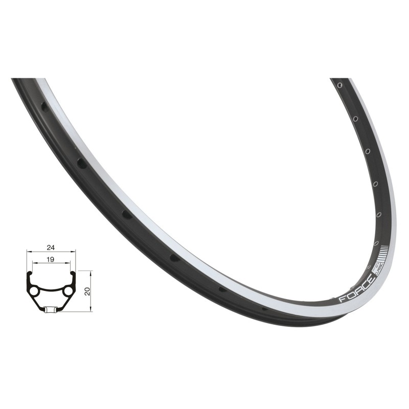 chain ring 44 teeth steel  black