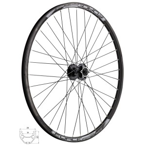 pedals FORCE 931 Fe-plastic ball bearings  black