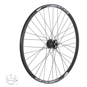 pedals FORCE 320 plastic ball bearings  purple